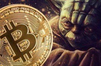 Логотип Crypto Yoda